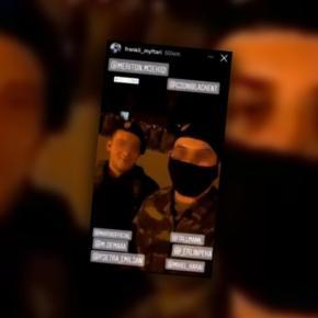 Ιδού ο Αλβανός πρωταγωνιστής του βίντεο με τα παραγγέλματα σε Έλληνεςστρατιώτες