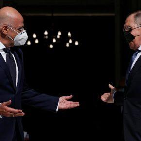 «Τα είπαν» Δένδιας – Λαβρόφ για ανατολική Μεσόγειο και τις τεταμένες ευρωρωσικέςσχέσεις