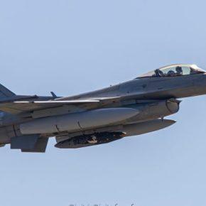 Το ελληνικό F-16V απογειώθηκε από το Βέλγιο για τιςΗΠΑ!