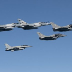 """SKYROS 2021"": Ιδού τι έκαναν τα Rafale των Γάλλων με τα ελληνικά Mirage 2000-5 και F-16 (pics /vid.)"