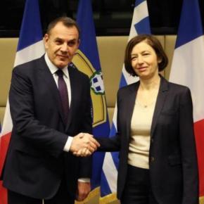 Παναγιωτόπουλος στη Le Figaro: Η συμμαχία Ελλάδας-Γαλλίας στέλνει ηχηρό μήνυμα ασφάλειας στην Α.Μεσόγειο