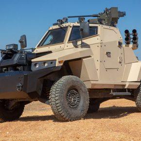 Η Plasan (νέος ιδιοκτήτης της ΕΛΒΟ) παρουσίασε το θωρακισμένο όχημα Stinger με δυνατότητα αυτόνομηςοδήγησης