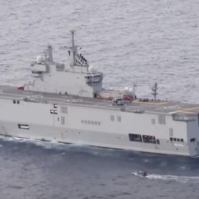 »Απόβαση» Γάλλων στην Κρήτη: Τεράστια μετακίνησηδυνάμεων