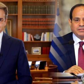 Κρίσιμες επαφές Ελλάδας-Αιγύπτου – ΕπικοινωνίαΜητσοτάκη-Σίσι
