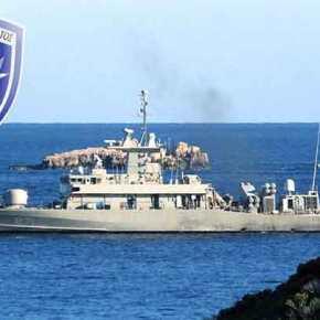 Καστελλόριζο: Η ΤΠΚ του ΠΝ «ΡΙΤΣΟΣ» απέναντι από τουρκική πυραυλάκατο κλάσηςKilic