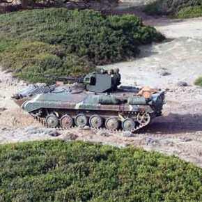 Στην απόκτηση νέου, σύγχρονου τεθωρακισμένου οχήματος προσανατολίζεται ο Ελληνικός Στρατός, όπως δήλωσε ο ΥπουργόςΆμυνας