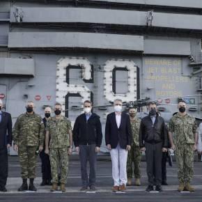 Μητσοτάκης: Σε εξαιρετικά επίπεδα η στρατιωτική συνεργασία με τις ΗΠΑ – Το «ευχαριστώ» στονΜπάιντεν