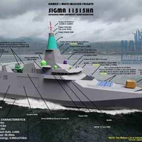 Αποκάλυψη τώρα: Φρεγάτα SIGMA 11515 Hellenic Navy, η ολλανδική πρόταση στοΠΝ!