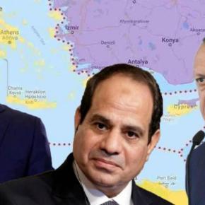 »Άκυρο» Αιγύπτου σε Τουρκία: »Δεν διαπραγματευόμαστε μαζί σας για τηνΑΟΖ»