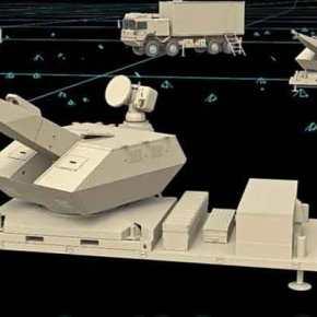 Το σύστημα εγγύς αντιαεροπορικής άμυνας SkyNex τηςRheinmetall