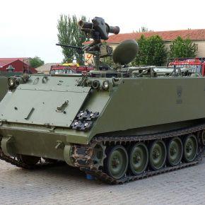 Η Ισπανία εξοπλίζει ΤΟΜΠ M113 με τον πύραυλοSpike