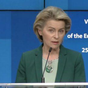 """Μετά το """"χάδι"""" ΕΕ, η Λάιεν προειδοποιεί την Τουρκία… εισπράττοντας""""φτύσιμο"""""""