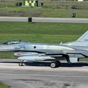 "To ""006"" τρίτο κατά σειρά F-16 εισήλθε στηνΕΑΒ"
