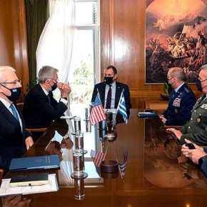Η συμφωνία Αμοιβαίας Αμυντικής Συνεργασίας Ελλάδος-ΗΠΑ στη συνάντηση ΥΕΘΑ με τον διοικητή Συμμαχικών Αεροπορικών δυνάμεων των ΗΠΑ σε Ευρώπη καιΑφρική