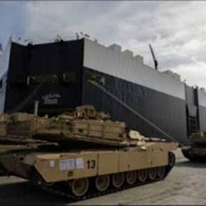 Αλβανία: Αμερικανικά άρματα μάχης ξεφορτώθηκαν στο Δυρράχιο και εκατοντάδεςστρατιώτες
