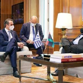 Ξεκινούν οι συνομιλίες ανάμεσα σε Ελλάδα-Λιβύη για τις ΘαλάσσιεςΖώνες
