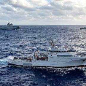 Τουρκικό πολεμικό πλοίο απειλεί γαλλικό ερευνητικό νότια τηςΚρήτης!