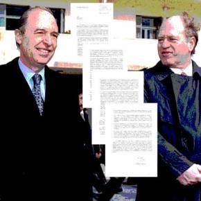 Η επιστολή του Γεράσιμου Αρσένη προς Σημίτη για τη συμφωνία τηςΜαδρίτης