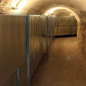 Σύστημα ελέγχου θερμοκρασίας-υγρασίας σε αποθήκη φύλαξης ευαίσθητου εξοπλισμού του Πολεμικού Ναυτικού(Φώτο)