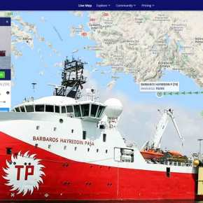 Η Τουρκία έβγαλε ξανά το Barbaros – Πλέει προς νοτιοανατολικήΜεσόγειο