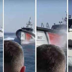 Τουρκική ακταιωρός παρενόχλησε σκάφος του ΛΣ στα ανοικτά τηςΛέσβου