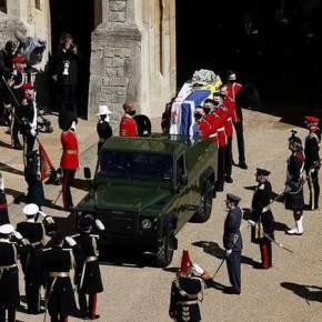 LIVE η κηδεία του πρίγκιπα Φιλίππου: Το «τελευταίοαντίο»