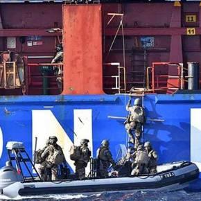 «Ρεσάλτο» Γάλλων πεζοναυτών σε τουρκικόπλοίο