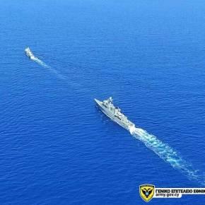 Συνεκπαίδευση Διοίκησης Ναυτικού Εθνικής Φρουράς με το Αιγυπτιακό Ναυτικό(Εικόνες)