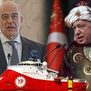 Ολοκληρώθηκε η συνάντηση Δένδια – Ερντογάν- Ανοιχτά της Λέσβου το Barbaros την ίδιαστιγμή!