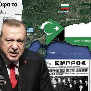 Χάρτης πρόκληση για τη Θράκη από τουρκικούς λογαριασμούς στα μέσα κοινωνικήςδικτύωσης