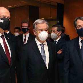 Κρίσιμες στιγμές στη Γενεύη: Πόρτα» σε Τουρκία για »λύση» των δύοκρατών