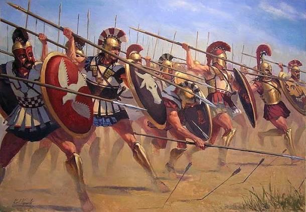 Greek-Hoplite-phalanx