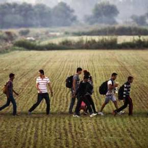 Ομάδες παράνομων μεταναστών εισβάλλουν τις τελευταίες ώρες από την Τουρκία στο ελληνικό έδαφος μέσωΈβρου