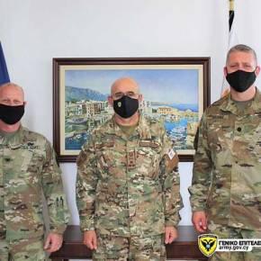 Κύπρος και ΗΠΑ συζητούν τρόπους ενίσχυσης της στρατιωτικήςσυνεργασίας