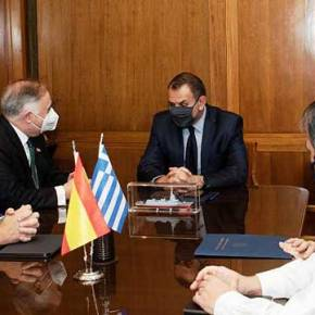 """Και ο Ισπανός πρέσβης για την """"πρόσκτηση"""" φρεγατών από τηνΕλλάδα"""
