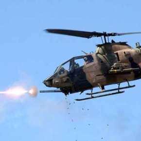 Οι Κούρδοι χτύπησαν τουρκικό ελικόπτερο – Καίγονται άρματαμάχης