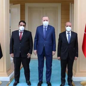 Νέα ενεργειακή συμφωνία Άγκυρας-Τρίπολης-Κίνηση ματ ετοιμάζει ο Χαφτάρ κατάΕρντογάν