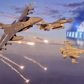 Μπαράζ παραβιάσεων του Εθνικού Εναέριου Χώρου από την τουρκικήΑεροπορία