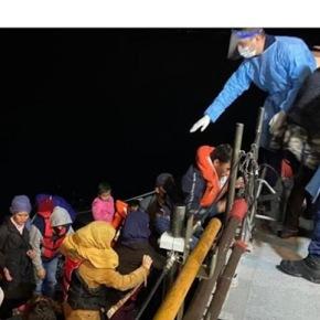 «Η Ελληνική Ακτοφυλακή γύρισε πίσω βάρκα με 56 μετανάστες», τούρκικοδημοσίευμα