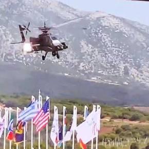 IMMEDIATE RESPONSE/CENTAUR 21: Ημέρα διακεκριμένων επισκεπτών – Βίντεο με διελεύσεις Apache και KiowaWarrior