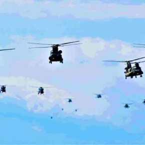 Δύναμη ελικοπτέρων ειδικής συνθέσεως της Αεροπορίας Στρατού εγκαθίσταται στηνΚρήτη
