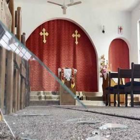 Ιράκ: Τούρκοι βομβάρδισαν εκκλησία(φώτο)