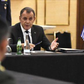 Συμμετοχή ΥΕΘΑ Νικόλαου Παναγιωτόπουλου στην Άτυπη Συνάντηση στο Συμβούλιο Υπουργών Άμυνας τηςΕ.Ε.