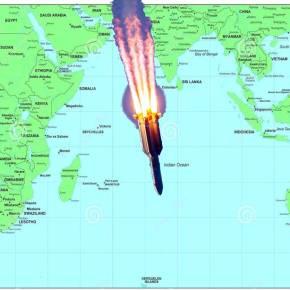 Έληξε ο συναγερμός: Στον Ινδικό Ωκεανό έπεσε ο κινεζικόςπύραυλος