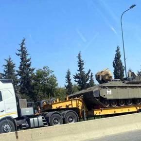 Στους δρόμους ισραηλινά άρματα μάχης – 5.000 στρατιώτες κατευθύνονται προςΓάζα