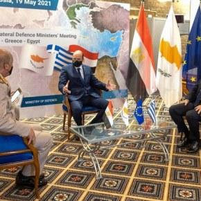 Μανιφέστο Ελλάδας-Αιγύπτου-Κύπρου κατά Τουρκίας»Τρέχουν» οι εξελίξεις στην Α.Μεσόγειο- Νέα «ραπίσματα» στηνΆγκυρα