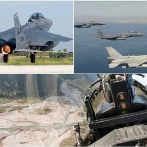 Νέο μήνυμα στήριξης από την Ουάσιγκτον – Σε νευρικό κλονισμό η Άγκυρα: Αμερικανικά F-15 στη Λάρισα – Ψήφος εμπιστοσύνης στα Ελληνικά«γεράκια»