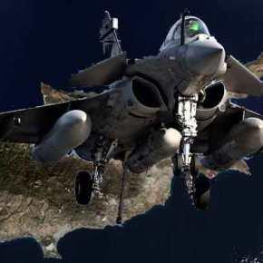Rafale του γαλλικού Ναυτικού θα πετάξουν πάνω από την Κύπρο για την άσκηση ΤΑΛΩΣ2021