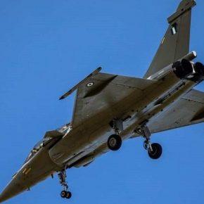 Ιδού το πρώτο Rafale της Πολεμικής Αεροπορίας με ελληνικάχρώματα