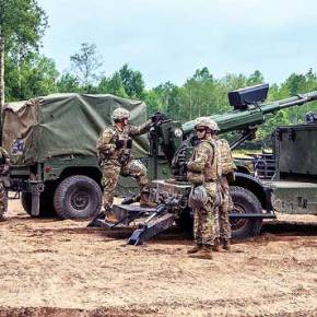 HUMVEE 2-CT Hawkeye MHS: Ένα αυτοκινούμενο πυροβόλο των 105 χιλιοστών, μια αξιόλογη λύση για τηνΑΣΔΕΝ